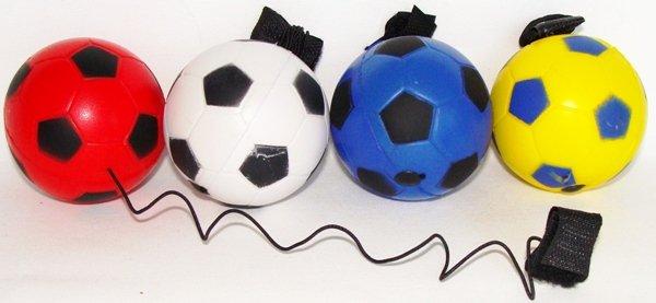 Мячики на резинке